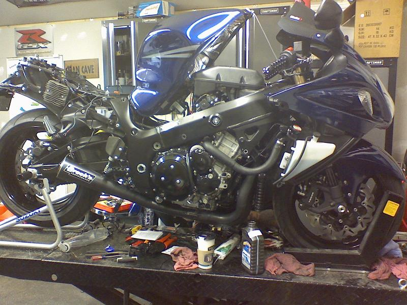 Is it safe to move the rectifier???   Gen II Busa