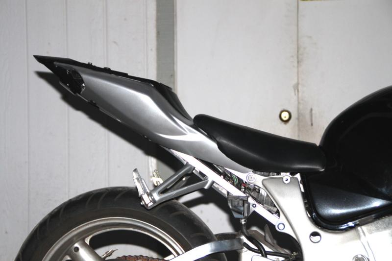 Hayabusa Subframe/Tail Conversion Kits to GSXR1000 | Appearance mods