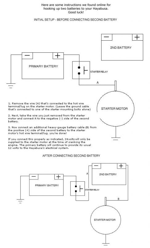 [SCHEMATICS_48DE]  24v wiring question.... | General Bike Related Topics | Hayabusa Owners  Group | 24v Wiring Diagram Of Engine |  | Hayabusa.org