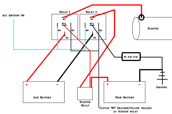 24 volt system busa problems hayabusa owners group  24 volt starting system diagram #13