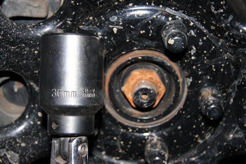 36 MM axle nut | Gen II Busa Information | Hayabusa Owners Group