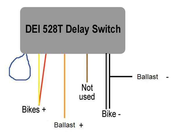 how to wire a hid delay timer hayabusa owners group 528t pulse timer wiring diagram at aneh.co