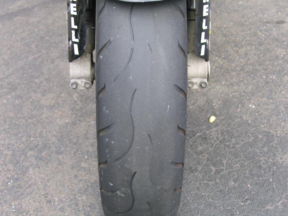Bike Tire Pressure >> Uneven wear on front tire | General Bike Related Topics | Hayabusa Owners Group
