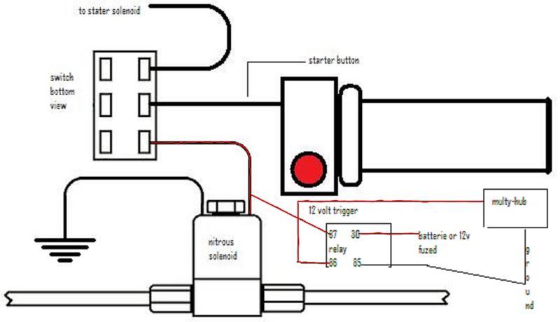 nitrous wiring