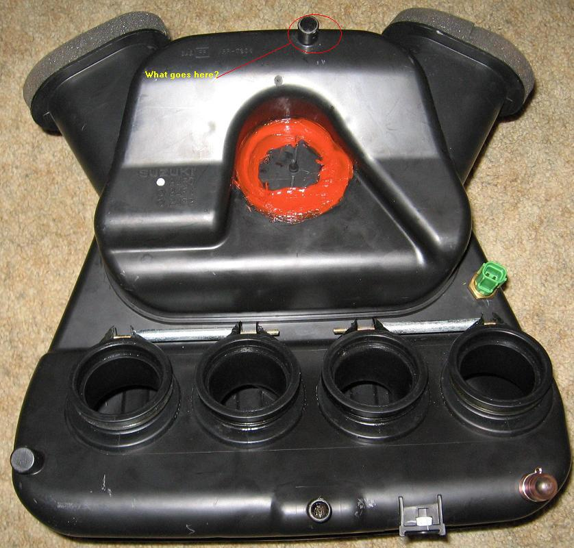 Small Air Box Mod Completed Bmc Filter Installed Engine And