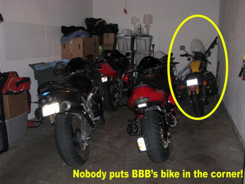 BBB's bike in the corner.jpg