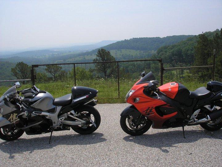 bikes at mountain in Eureka springs AR.jpg