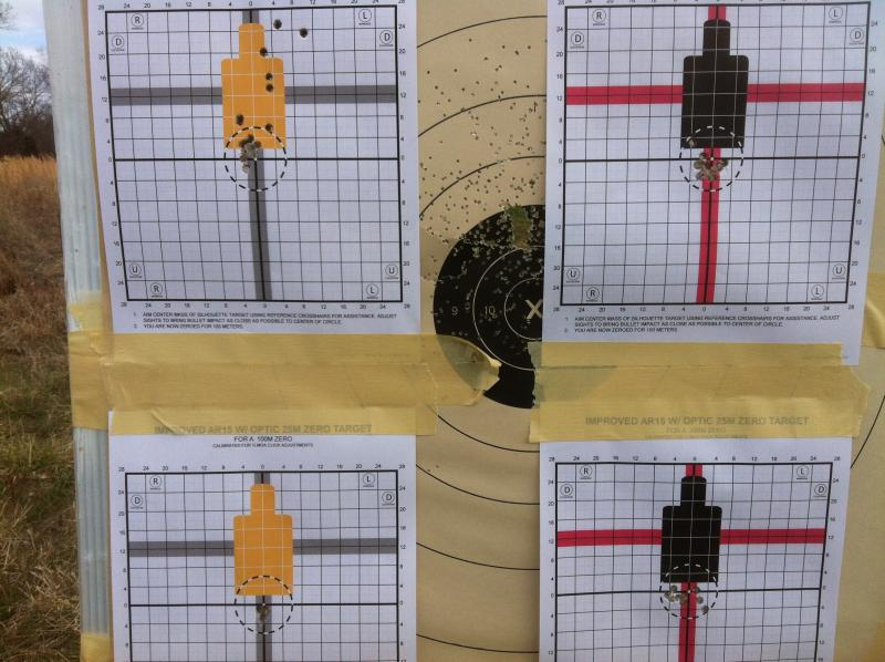 picture relating to Ar15 25 Yard Zero Target Printable known as AR Lovers: Good downloadable zero plans Random