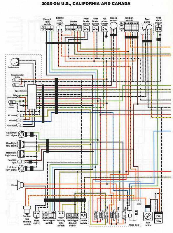 Wiring Diagrams Color X Y K1 K2 K3 K4 Models Maintenance And Do It Yourself Hayabusa Owners Group