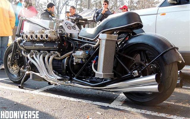 Lamborghini V12 Powered Custom Motorcycle General Bike Related