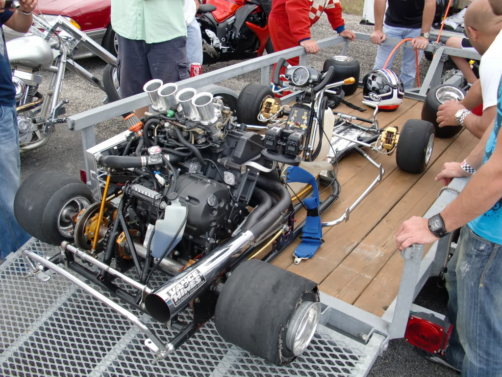 181mph Go Kart run at LSR today-VIDEO and PICS   General
