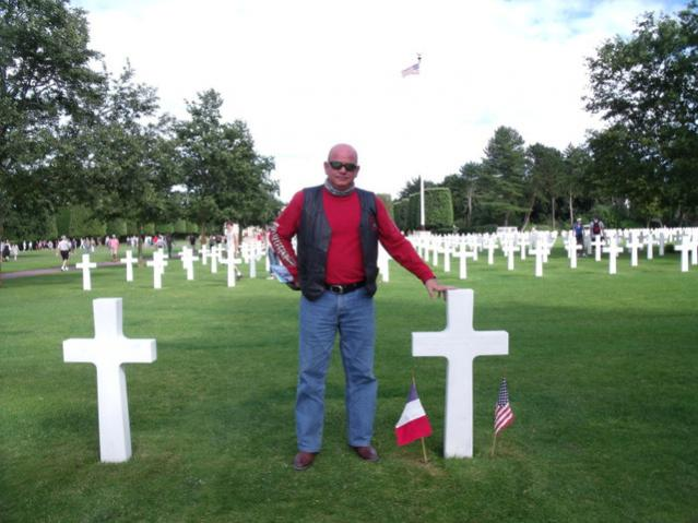 Normandy American Cemetary James and John Reidy.jpg