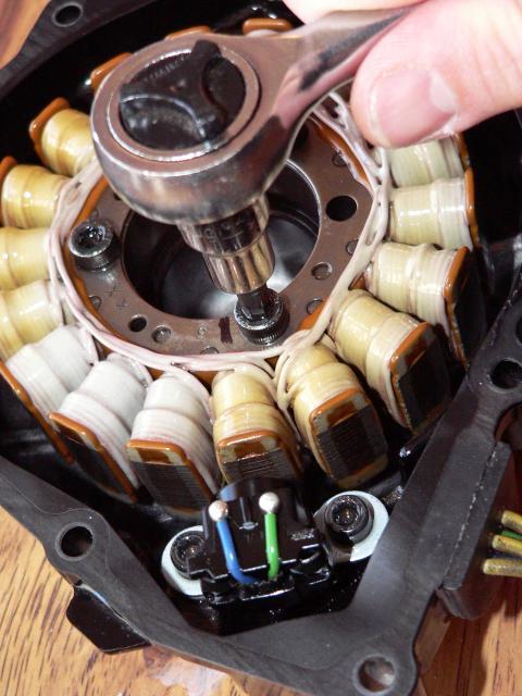 Gen 2 Stator Cover Removal and Generator Coil/CKP Sensor
