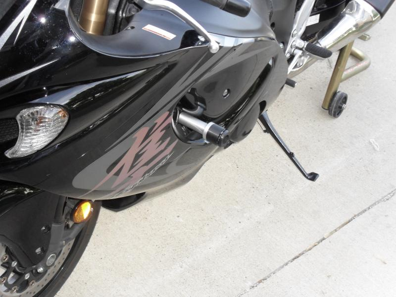 No cut frame sliders. Opinions and pics???? | Gen II Busa ...