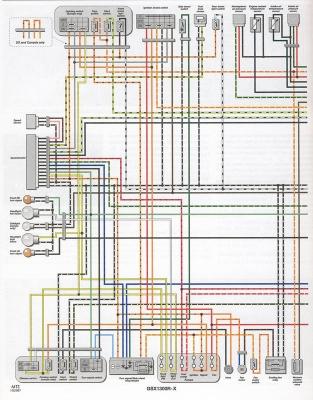wiring diagrams color x y k1 k2 k3 k4 models hayabusa owners group x left jpg