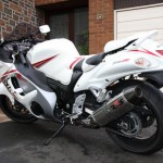 K8 Hayabusa White / Red Yum Yum Yum